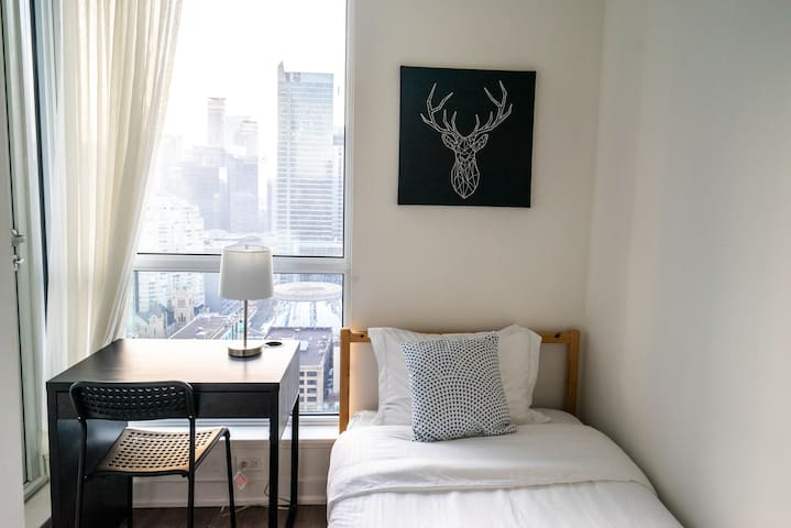 Cozy Twin Bd in Best Location w/Private Balcony