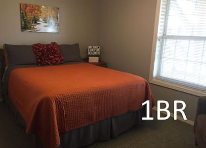 1BR - Lake View with Private Level & Patio - Bloomington - Casa