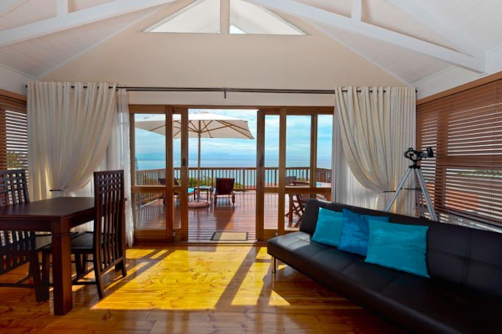Honeymoon Suite with sea view balcony