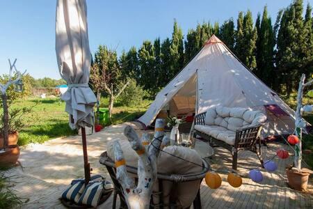 TIPI II - Can Picafort - Kızılderili Çadırı