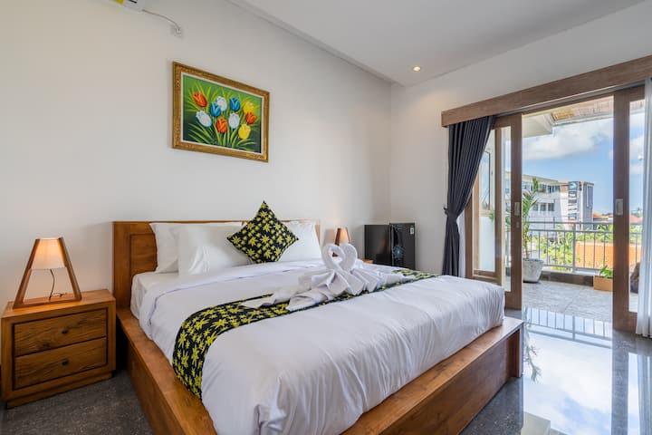 S4 Modern Designer 1bd Apartment in Canggu Beach