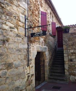 Donjon du 12ème siècle - Vinezac - Istana