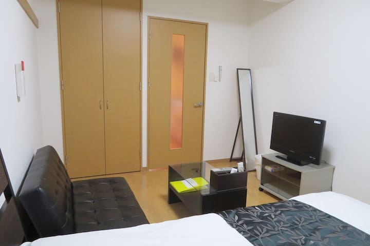 【T4.4】3min Tenjin St.☆Great location for shopping!