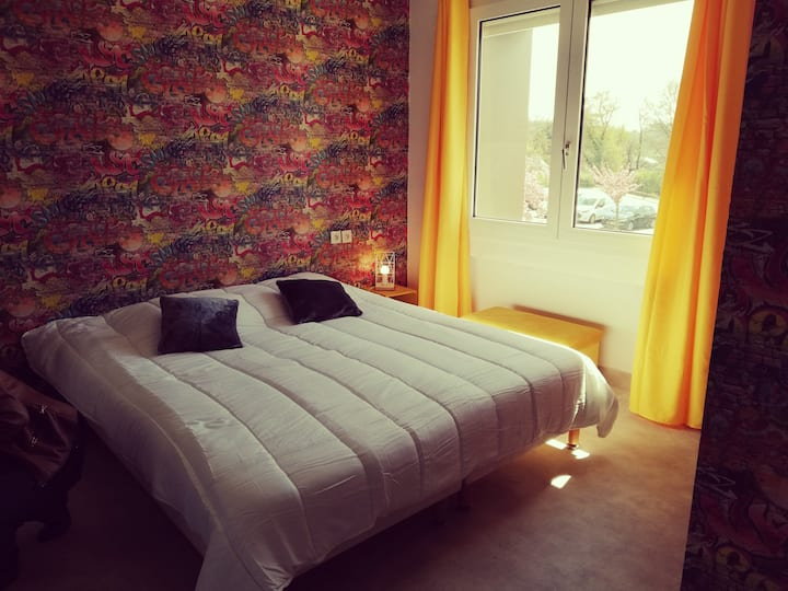Grand appartement avec un vaste séjour