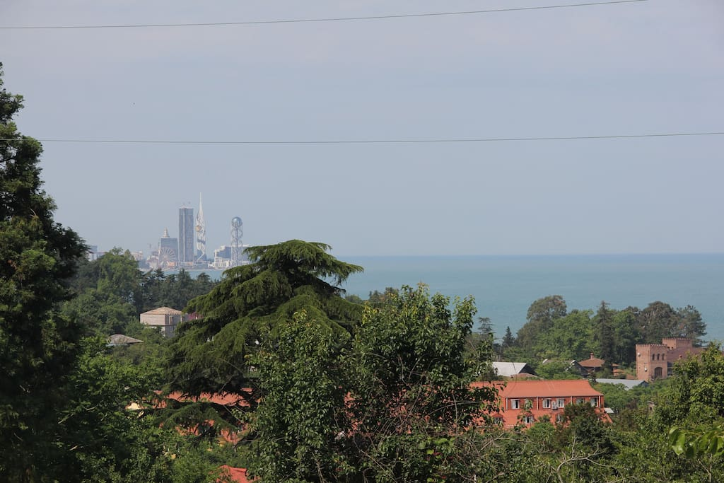 View with See & Batumi City.