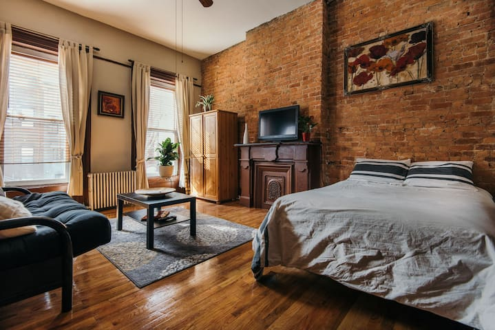 Brownstone Studio - Brooklyn - Apartamento
