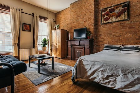 Brownstone Studio - Brooklyn - Appartement