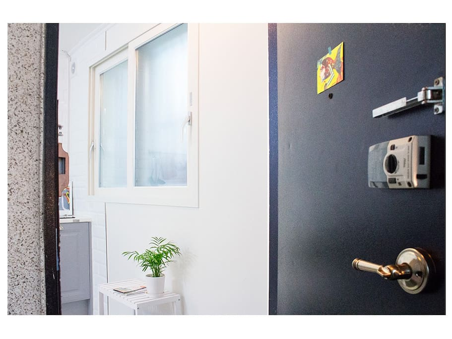 Once you open the door,