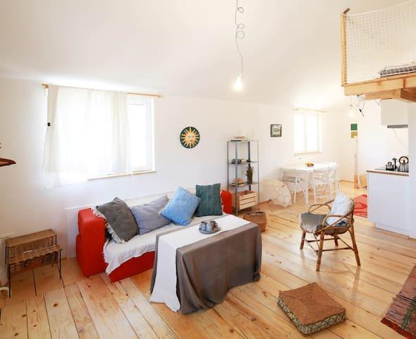 Loft studio apartment Sun One