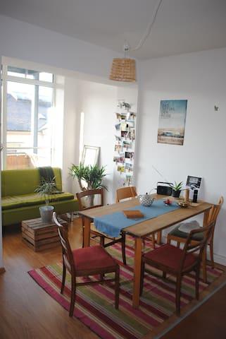 Mitten in der Neustadt/ Central new city apartment - Dresden - Pis