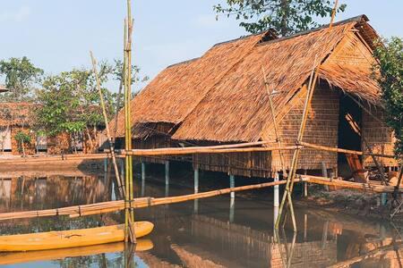 Maison en Bambou - Le Vent
