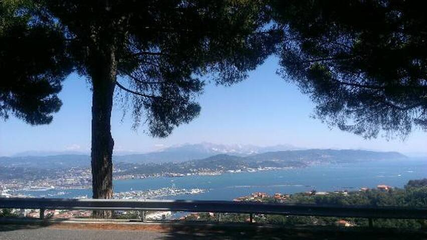 Villa Paradiso vista mare - La Spezia - Villa