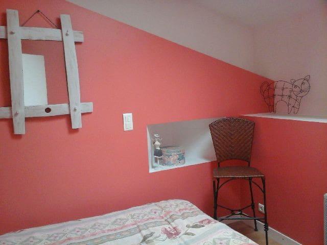Chambre chez l'habitant(salle de bain,WC privés) - Bouguenais