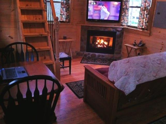 Cozy Upscale Cabin in Johnson,  VT   Solar Powered