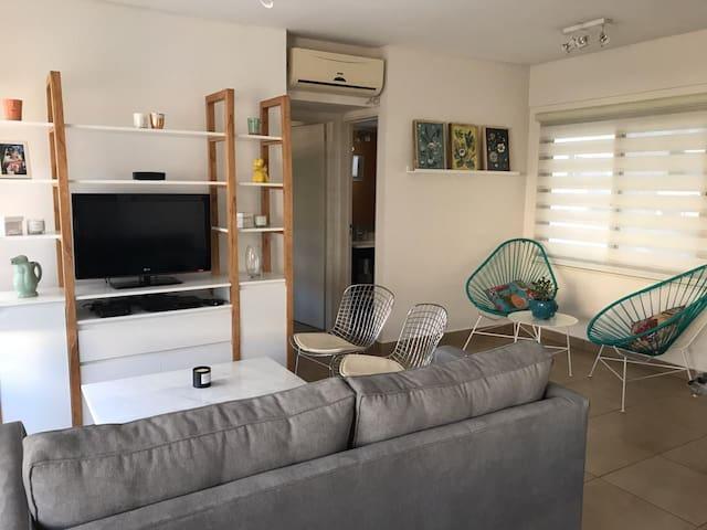 Moderno y luminoso departamento en Olivos