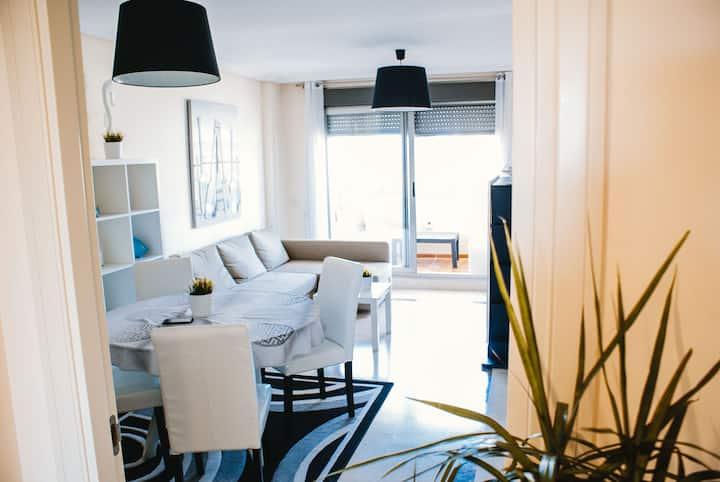 Appartement Rosal Calpe Beach , zeezicht, centraal