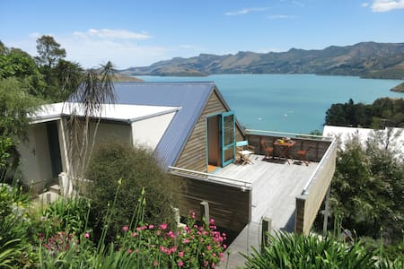 Corsair Bay beauty & tranquility - Lyttelton - 樓中樓