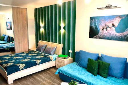 Green style apartment