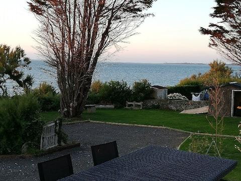 Location maison bord de mer 3 chbes Le Becquet