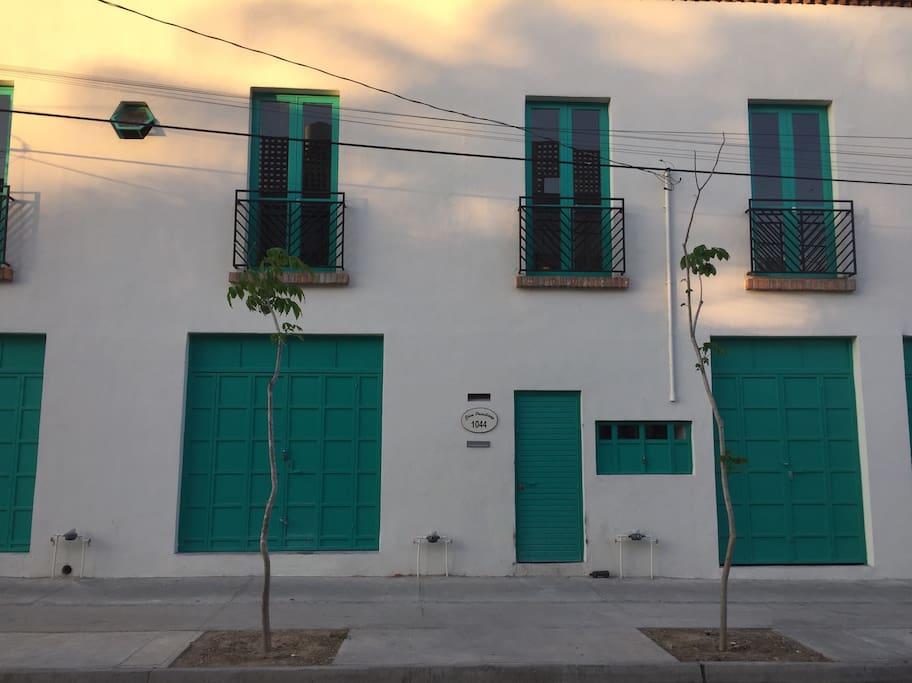 Fachada de Casa Prisciliano