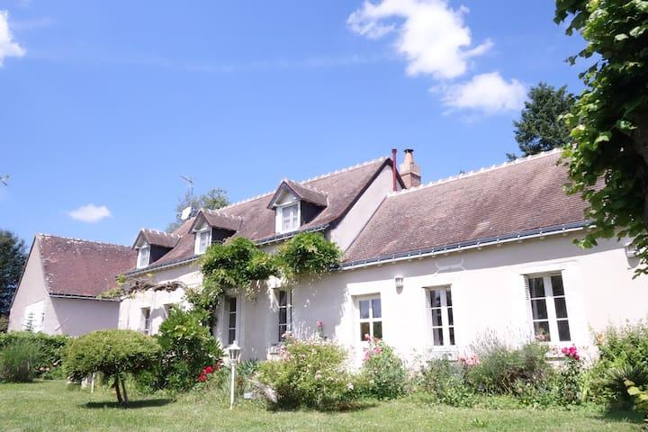 Chambre dans maison de charme au coeur des vignes