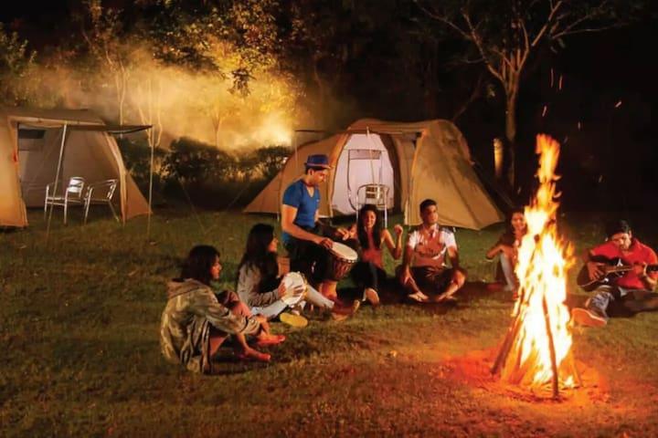 Rent-O-Tent:Destress and Rejuvenate