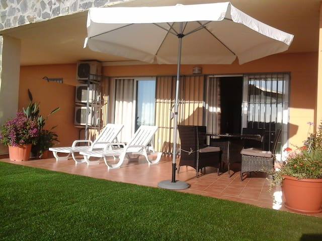 Garden apartment with sea view in Don Juan 3 - Fuengirola - Apartment
