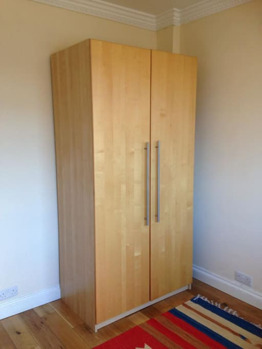 Wardrobe in the Guest Bedroom