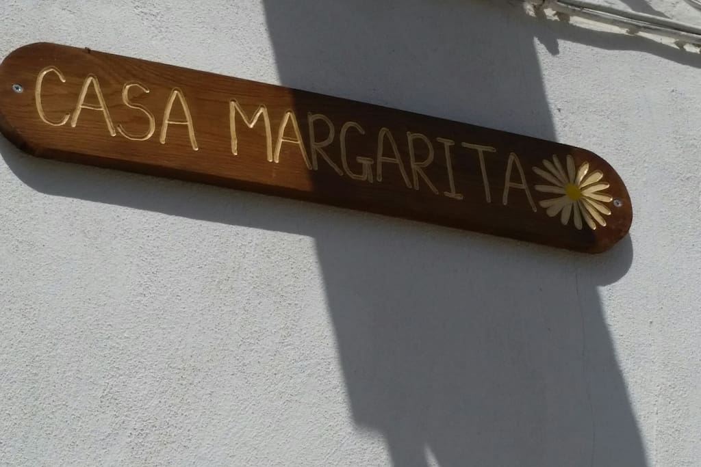 Casa Margarita house sign