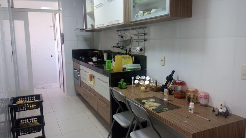Apartamento na praia super aconchegante - Vila Velha - Huoneisto