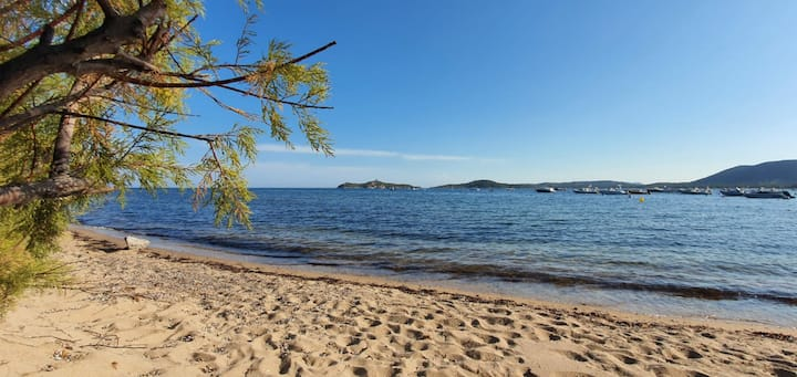 villa Tamaris accès direct mer et plage  !