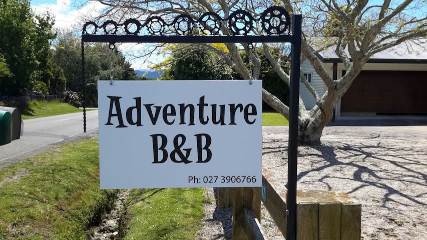Adventure B&B 3min drive to town - Takaka - Bed & Breakfast
