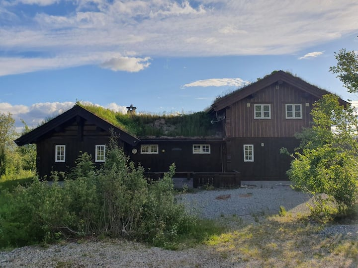 Large mountain cabin - Norefjell, spectacular view