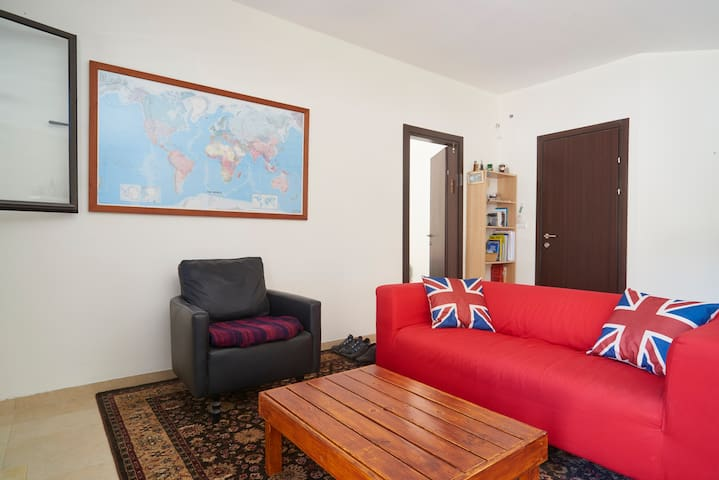 lovely & sunny well equipped flat - Rehovot - Apartment