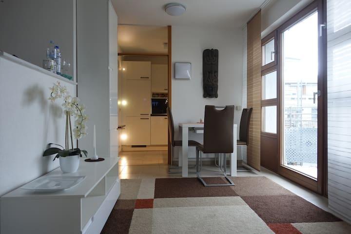 Modern möblierte 1-Zi. Wohnung, absolut zentral !!