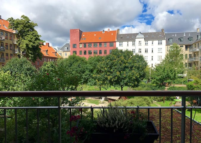 The nut guest room in Vesterbro