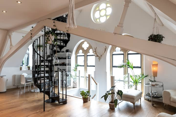 Converted Chapel Loft Apartment
