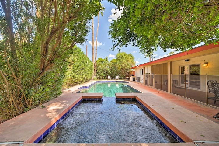 Updated Phoenix Home w/ Outdoor Oasis: Pool & Spa!