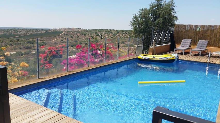 Villa kosher pool near Jerusalem ! - Aderet