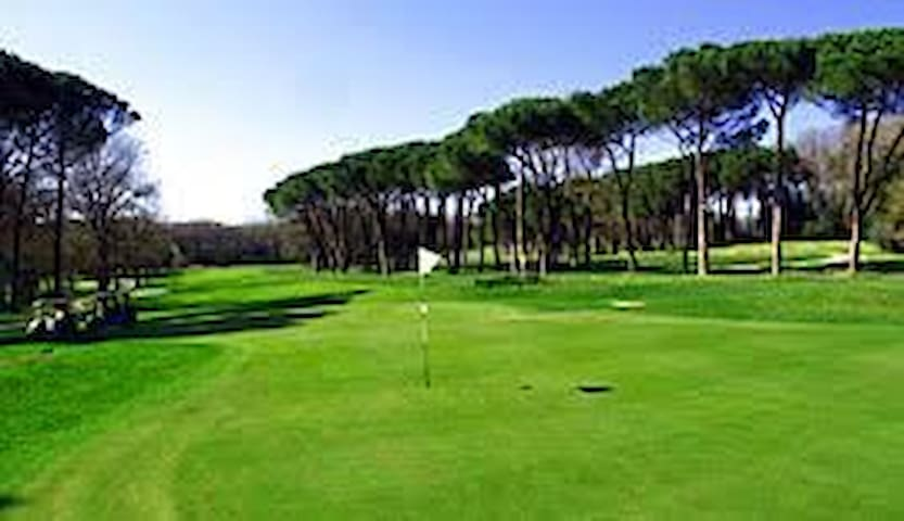 green del circolo golf club Olgiata