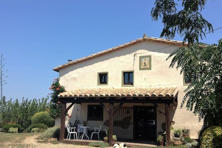 Can Torras Farmhouse Studio with magnificent views