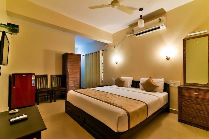 Deluxe Room | Beautiful Room at Baga Beach