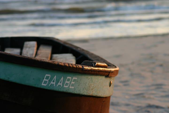 "Ostseele - ""Seeschimmer""  1oom zum Strand"