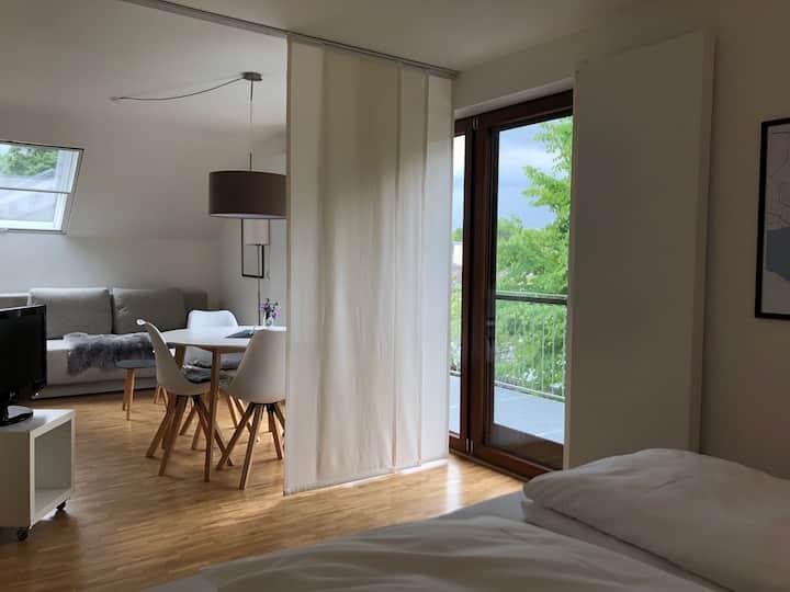 1,5 Zi. Designerwohnung Mettnau mit großem Balkon