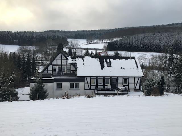 Das Freizeithaus am Rothaarsteig - Kirchhundem - Daire