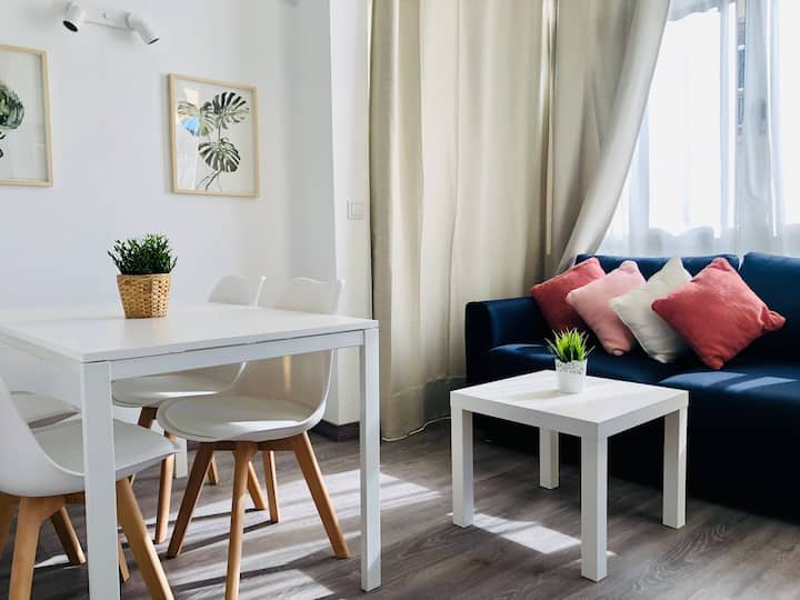 Confort y estilo en Torremolinos centro🥇