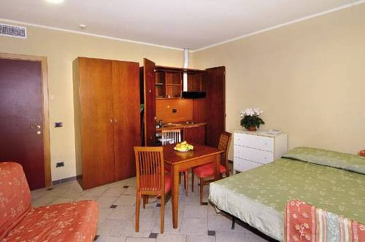 Studio in serviced apartment-2