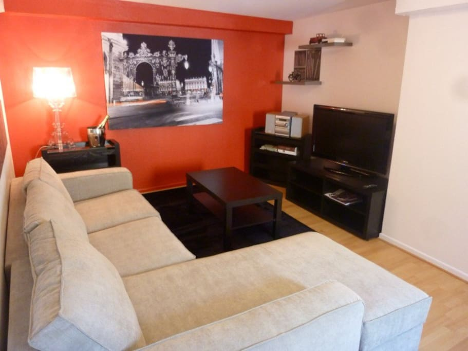 Bel appartement place stanislas apartments for rent in for Appartement meuble nancy