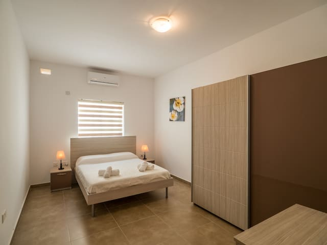 Sweet Double Room with Private Exterior Bathroom