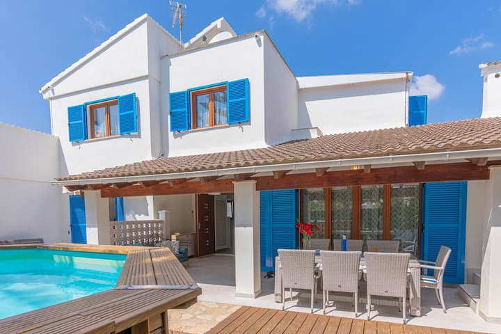 Mallorca winter offer-villa close to nature&beach